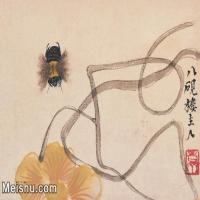 【打印級】JXD6192788近現代國畫齊白石作品小品圖片-17M-