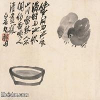 【打印级】JXD6195243近现代国画飞禽鸟雀-齐白石全集图片-28M-