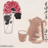 【打印級】JXD6192780近現代國畫齊白石作品小品圖片-26M-