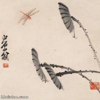 【欣赏级】JXD6192717近现代国画齐白石作品小品图片-3M-