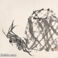 【打印级】JXD6197334近现代国画水族类-齐白石全集图片-75M-