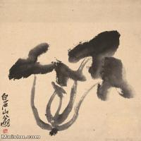 【打印级】JXD6193827近现代国画静物-齐白石全集图片-70M-