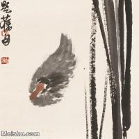 【打印级】JXD6195362近现代国画飞禽鸟雀-齐白石全集图片-95M-