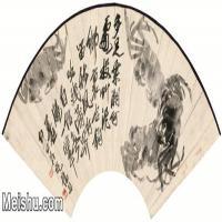 【打印级】JXD6197319近现代国画水族类-齐白石全集图片-62M-