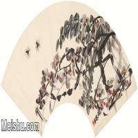 【打印级】JXD6193457近现代国画草木植物-齐白石全集图片-52M-
