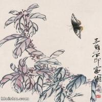【打印级】JXD6192830近现代国画齐白石作品小品图片-24M-