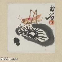 【欣赏级】JXD6192754近现代国画齐白石作品小品图片-2M