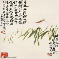 【欣赏级】JXD6192732近现代国画齐白石作品小品图片-10M-