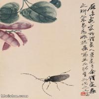 【欣赏级】JXD6192785近现代国画齐白石作品小品图片-22M-
