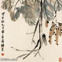 【欣赏级】JXD6192673近现代国画齐白石作品小品图片-7M-