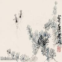 【欣赏级】JXD6192690近现代国画齐白石作品小品图片-8M-