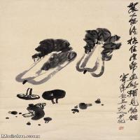【欣赏级】JXD6192715近现代国画齐白石作品小品图片-4M-