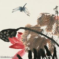 【欣赏级】JXD6192733近现代国画齐白石作品小品图片-9M-