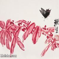 【打印级】JXD6192827近现代国画齐白石作品小品图片-19M-