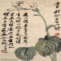 【打印级】JXD6193313近现代国画草木植物-齐白石全集图片-54M-
