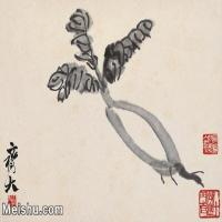 【打印级】JXD6192824近现代国画齐白石作品小品图片-18M-
