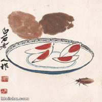 【打印級】JXD6192770近現代國畫齊白石作品小品圖片-48M-