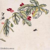 【欣赏级】JXD6192805近现代国画齐白石作品小品图片-23M-
