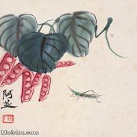 【打印級】JXD6192778近現代國畫齊白石作品小品圖片-23M-
