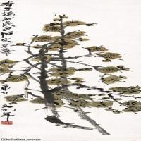 【超顶级】JXD5260208近现代国画梅花图-齐白石国画水墨立轴-30x97.5-花卉-梅花-192M-3915X