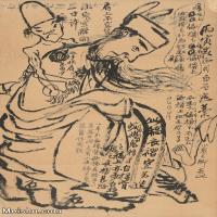 【印刷级】JXD6195670近现代国画人物-齐白石全集图片-49M-
