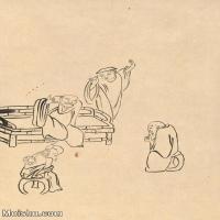 【印刷级】JXD6195634近现代国画人物-齐白石全集图片-23M-