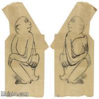 【印刷级】JXD6195600近现代国画人物-齐白石全集图片-115M-