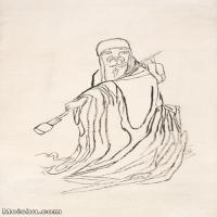 【印刷级】JXD6195631近现代国画人物-齐白石全集图片-74M-