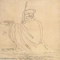 【印刷级】JXD6195632近现代国画人物-齐白石全集图片-84M-