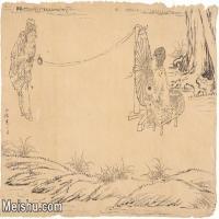 【印刷级】JXD6195648近现代国画人物-齐白石全集图片-106M-