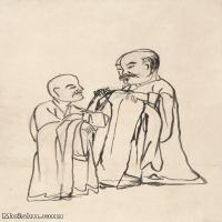 【印刷级】JXD6195616近现代国画人物-齐白石全集图片-49M-