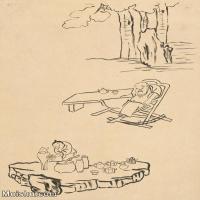 【印刷级】JXD6195638近现代国画人物-齐白石全集图片-23M-
