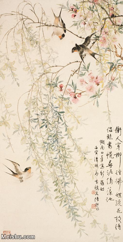 【打印级】JXD6165310近现代陆抑非 (72)名家国画花鸟花卉植物立轴图片-39M-.jpg