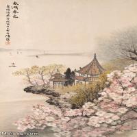 【印刷级】JXD6166883近现代陆抑非 (228)名家国画山水风景立轴图片-40M-