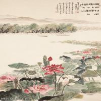 【印刷级】JXD6166876近现代陆抑非 (108)名家国画山水风景立轴图片-42M-