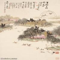 【印刷级】JXD6166882近现代陆抑非 (226)名家国画山水风景立轴图片-40M-