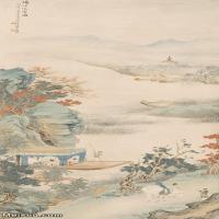 【印刷级】JXD6166879近现代陆抑非 (222)名家国画山水风景立轴图片-31M-