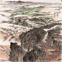【超顶级】JXD5240530近现代国画行云流水-陆俨少国画水墨立轴-30x55.5-95x176-山水-风景-山川-河流山水风景图片-932M-11