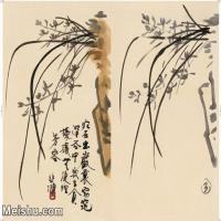 【印刷级】JXD5269460近现代国画名家徐悲鸿册页图片-39M-