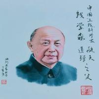梁基祖-著名人物国画作品集(5)