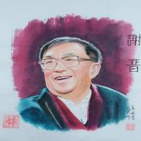 梁基祖-著名人物国画作品集(4)