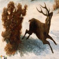 法国画家居斯塔夫·库尔贝-油画展(一)