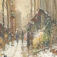 尤金.加林Eugène Galien-油画展(二)