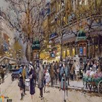 尤金.加林Eugène Galien-油画展(一)