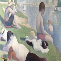 法国(点彩派)乔治修拉Georges Seurat-油画展