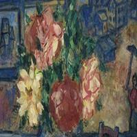 马克·夏加尔Marc Chagall-抽象画展(三)