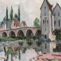 阿尔弗莱德·西斯莱Alfred Sisley-油画展(一)