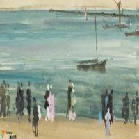 美国画家惠斯勒-油画展