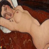 莫迪利亚尼Modigliani-油画展(一)