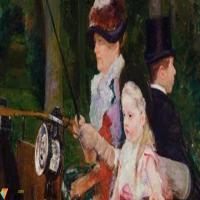 玛丽·卡萨特Mary Cassatt-作品展(一)